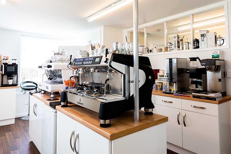 showroom coffee